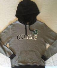 NWT NBA Boston Celtics Adult Hoodie Sweatshirt Small Majestic Hardwood Classics