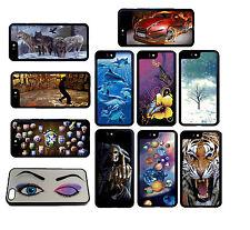 Cambiar imagen 3D Efecto Funda Protectora Para iPhone Samsung Teléfonos Móviles