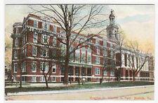 St Vincent de Paul Hospital Norfolk VA 1910c postcard