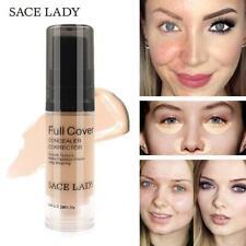 Maquillaje Profesional Corrector De Líquido Base Funda Facial Resistente Al Agua