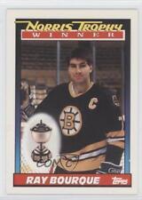 1991-92 Topps #517 Ray Bourque Boston Bruins Hockey Card