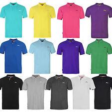 Slazenger caballero camisa camiseta polo manga corta t shirt nuevo S M L XL 2xl 3xl 4xl Plain