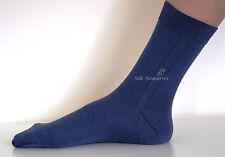 Lujoso transpirable de hombres Chicos Seda calcetines del Reino Unido 6-9 Térmica Casual O Smart Nuevo