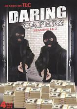 Daring Capers: Seasons 1 & 2 DVD 4-Disc Box Set TLC TV series true crime NEW!