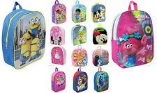 Childrens Tv Character Rucksacks Backpacks Shoulder School Bag Official Licenced