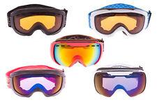 Crivit Kinder Jungen Mädchen Skibrille Snowboardbrille Wintersport Ski UV Schutz