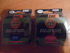 FOX ARMA MESH BAIT MESHING SYSTEM REFIL  14 mm oder 22 m  5 m   Nachfüllpack