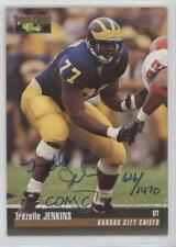 1995 Classic Pro Line Autographs #TRJE Trezelle Jenkins Kansas City Chiefs Auto