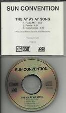 SUN CONVENTION Ay Ay Song REMIX & INSTRUMENTAL PROMO CD