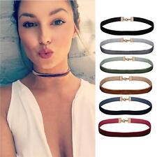 6PC Choker Necklace Gothic Velvet Ribbon Women's Collar Set Mix Color Choker Lot