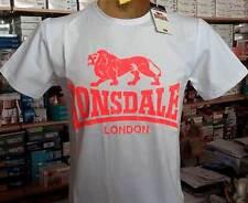 T-shirt maglia uomo Lonsdale manica corta girocollo con stampa logo art 28578