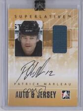 2007-08 In the Game Superlative & Jersey Silver #AJ-PM Patrick Marleau Auto Card