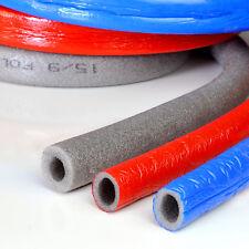 Isolierschlauch Rohrisolierung 10m - 6mm & 4mm x 15 18 22 28 35 ROT BLAU PEX