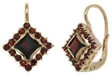 ORECCHINI gioiello in ORO orecchino donna con pietre e4
