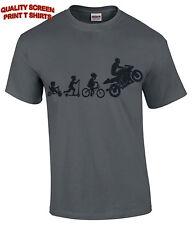 Motorbike Evolution Mens T-Shirt/Funny Super bike/Motorcycle/Sports/Biker/Tattoo