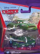 Disney Pixar Cars 2 Diecast NIGEL GEARSLEY  #20 2010