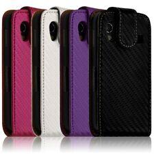 Housse coque etui gaufré pour Samsung Galaxy Ace S5830 couleur