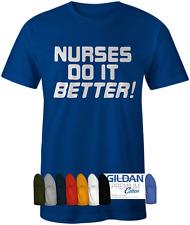 Mens Nurses Do It Better Tee. As worn by Robert Plant of Led Zeppelin T-shirt