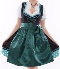 Oktoberfest 3tlg. du T 34.36.38.40.42.44.46.48.50 costumes robe vert foncé