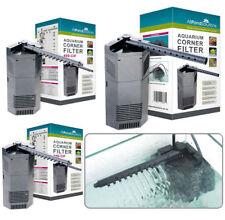 Aquarium Corner Internal Fish Tank Filter / Water Pump 250L/H 450L/H & 650L/H