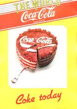 ADVERTISING PUBBLICITA' 1985 THE WORLD OF COCA-COLA - COKE TODAY