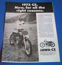 1973 JAWA CZ 250 CZ 250MX CZ250 AD VINTAGE AHRMA