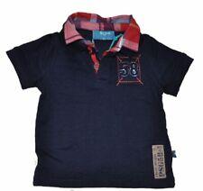 paglie Niños Mini Niño Camiseta T-Shirt azul marino talla 68-98