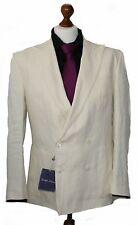 Ralph Lauren Purple Label Leinen Sportcoat Cream Linen Sakko Gr.48, 50 & 52