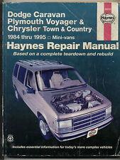 HAYNES 1984-1995 CARAVAN, VOYAGER, TOWN & COUNTRY MINI-VANS REPAIR MANUAL