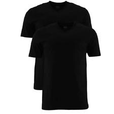 2er Pack MARVELIS HERREN T-SHIRT XL NEU26€ kurzarm herrenshirt shortsleeve black