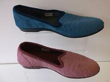 Mujeres Puntera Azul/Rosa Pantuflas X2026