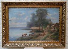 """Karl Kaufmann """"Schaprode"""" olio, circa 1870"""