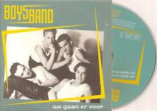 BOYSBAND - we gaan er voor CD SINGLE Europop 1997 RARE!