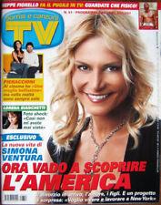 TV Sorrisi-'07-SIMONA VENTURA,Lorena Bianchetti,Penelope Cruz,Johnny Depp,Kakà
