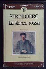 LA STANZA ROSSA - AUGUST STRINDBERG - CLASSICI ECONOMICI NEWTON SUPERTEN 1993