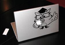 MISTER OWL HOW MANY LICKS MACBOOK TABLET ART VINYL DECAL