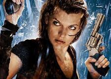 Resident Evil el capítulo final Póster Película Pared Arte Impresión Foto Poster A3 A4