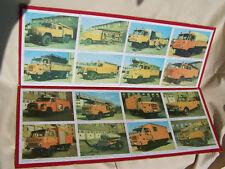 2x Plaque DDR Sapeurs-pompiers Photos, W50 Wartburg LE