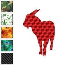Billy Goat Ram Decal Sticker Choose Pattern + Size #2829