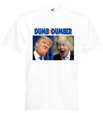 Boris Johnson and Donald Trump T Shirt President Prime Minister Novelty