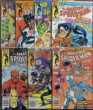 7 MARVEL COMICS 272-281 The AMAZING SPIDER-MAN 1986