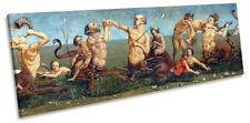 Piero di Cosimo Tritons And Nereids Picture PANORAMA CANVAS WALL ART Print