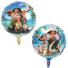 45.7cm Disney MOANA Maui Forma Redonda Globo metalizado Niños