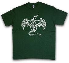 CELTIC DRAGON IV T-SHIRT Kelten keltisch Religion Culture Drache Sign Symbol
