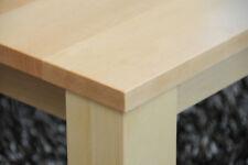 Couchtisch Birke massiv Echtholz mit/ohne Ablage, gern auch Wunschmaß Lounge