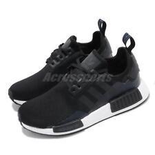adidas Originals NMD_R1 J BOOST Black Navy White Kid Junior Women Shoes EG7924