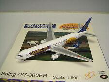 """NM Netmodels 500 Skymark Airlines B767-300ER """"Yahoo Japan"""" 1:500"""