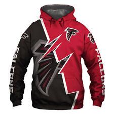 Atlanta Falcons Hoodie Hooded Pullover Sweatshirt S-5XL Football Team Fans