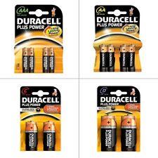 Paquete De Energía Duracell Plus de larga duración Pilas Alcalinas Para Luces De Navidad