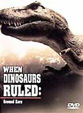 WHEN DINOSAURS RULED - When Dinosaurs Ruled: Ground Zero - DVD NEW